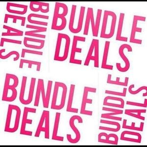 Bundle away for some amazing discounts!!!